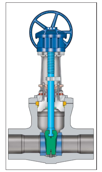 Difference between gate valve in the power plant and other valves