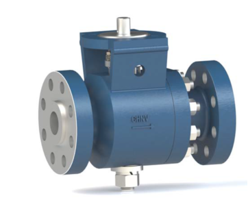 Metal-seated forged ball valve BB-series